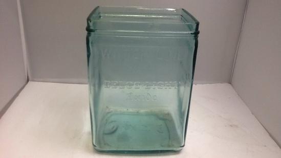 Waterline Delco-Line E xide Glass Container