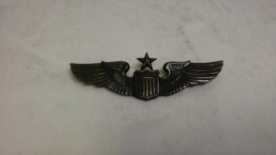 Vintage WWII Wing Shield  with Star
