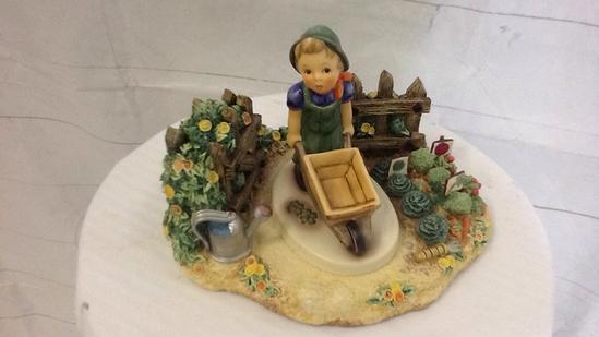 Hummel Bountiful Garden and Little Landscaper