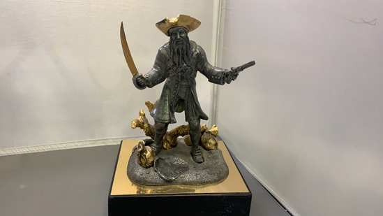 Pewter Michael Ricker Pirate