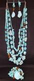 Turquoise Stone Jewelry Set