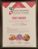 Rocky Mountain Food Tour