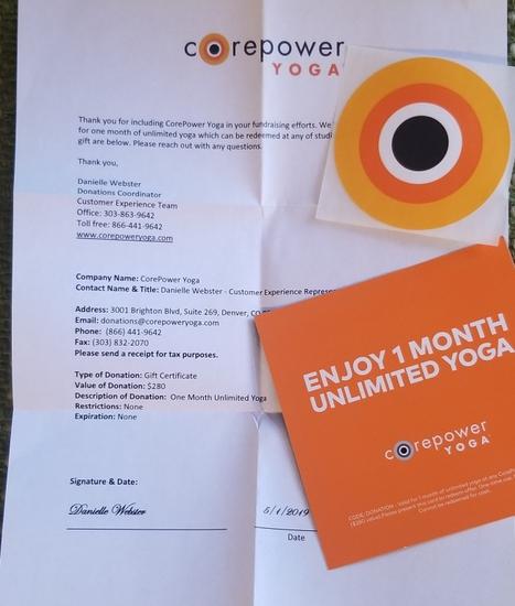 Core Power Yoga Membership
