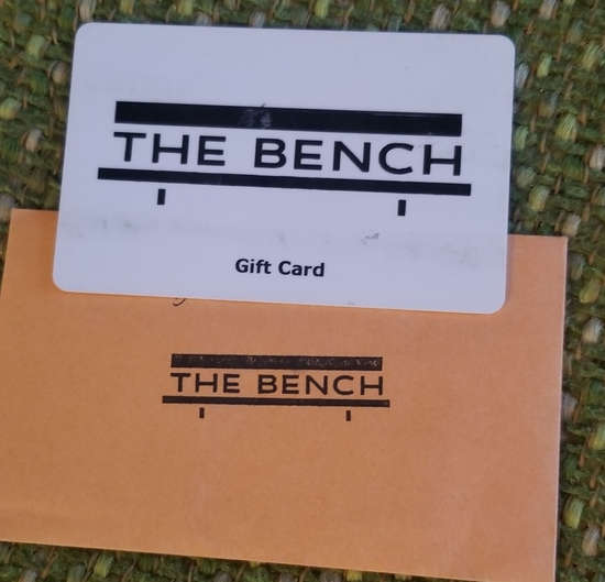 The Bench $25 Gift Card.