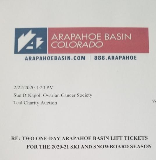 A-Basin Lift Tickets