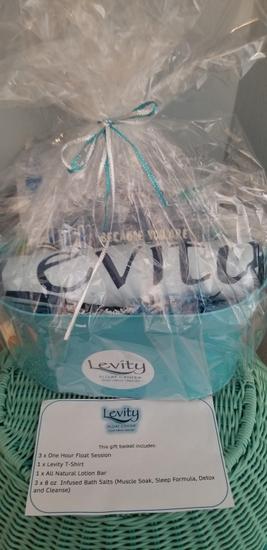Levity Float Gift Basket