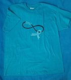 T-Shirt Teal Ribbon