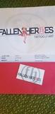 Fallen Heroes Tattoo Gift Certificate