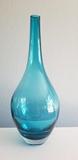 TEAL glass vase