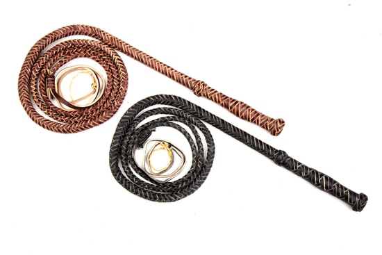 WHIP 975 Redhide Bullwhip 6 FOOT
