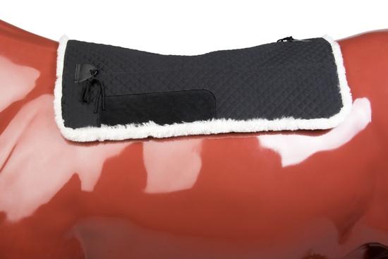 PAD 660BL - ULTIMATE SHEEPSKIN PAD BLACK