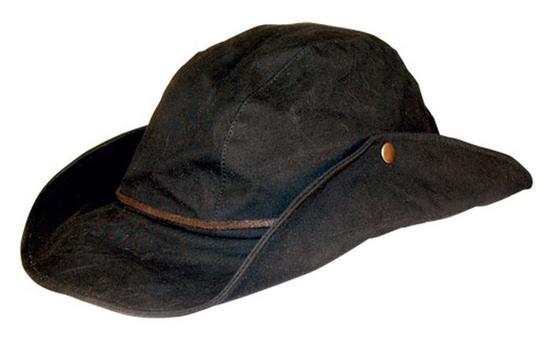 HAT 650BL7 - DINKUM AUSSIE SNAP BLACK SIZE  XL