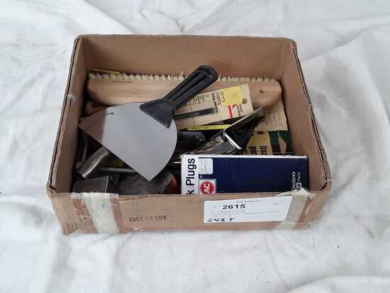 lot of miscellaneous tools.