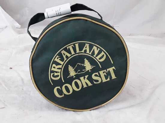 Greatland 6pc camping cook set.