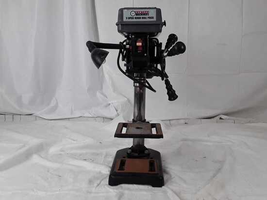 Central machinery 5 speed bench drill press with