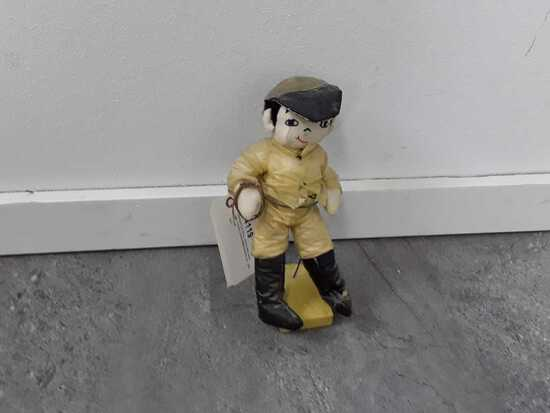 VINTAGE BOY DOLL LOOKS HAND MADE