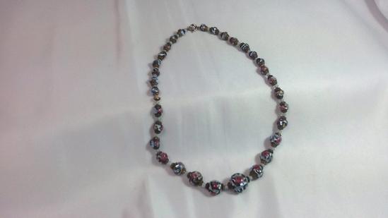 Beaded Mosaic Necklace