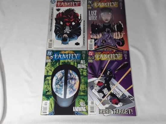 4 DC - Batman Family 1 - 4 Comics