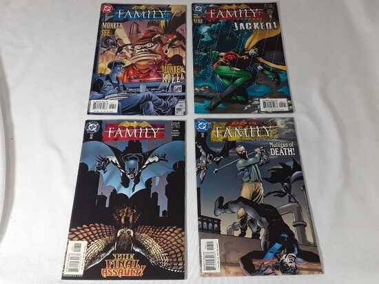 4 DC - Batman Family 4 - 8 Comics