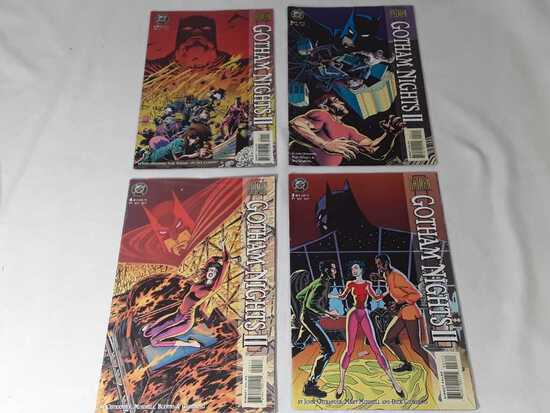 4 DC - Batman Gotham Nights 2. Books 1-4 of 4, 95