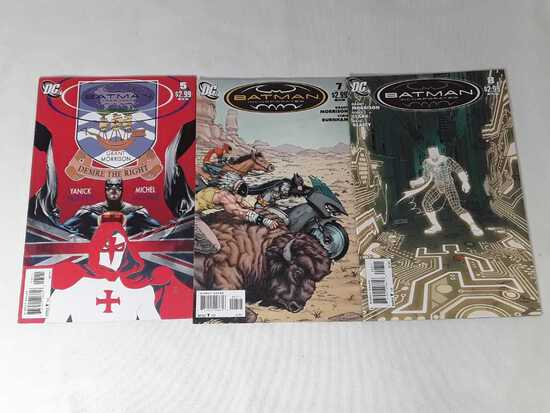 3 DC - Batman Incorporated Comics