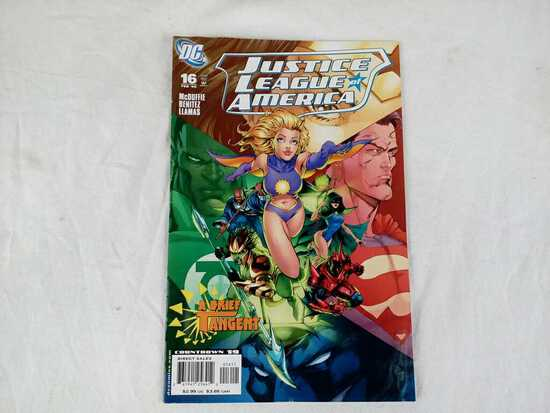 DC - Justice League of America - 16 Feb'  08