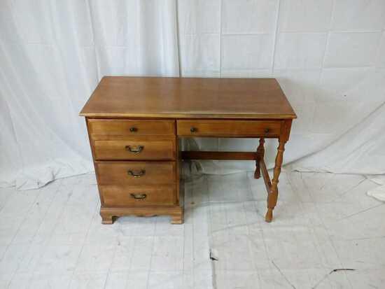 Vintage maple desk.