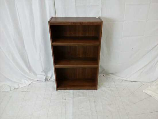 Small particle wood bookcase