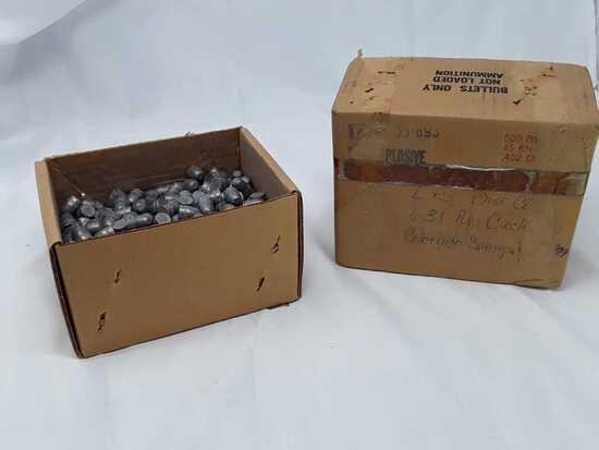 1 Box of 3-D Co. 45Cal Bullets.
