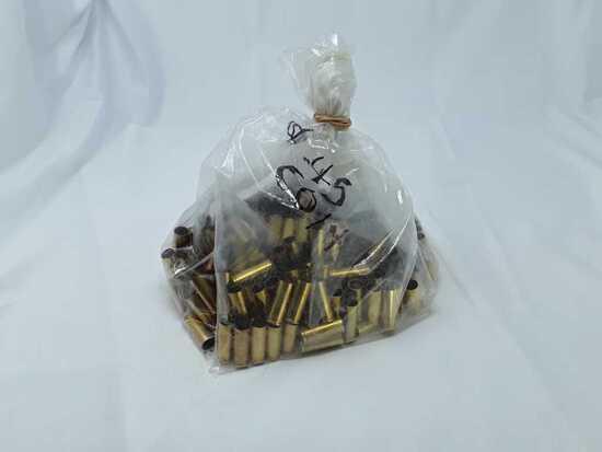 1 Bag of 45 Colt Brass Casings.