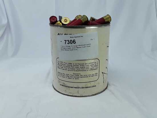 1 Can of Vintage 16 Gauge Winchester Ammo