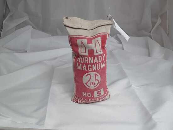 1 25Lbs Bag of Hornady Magnum No 5. Shot.