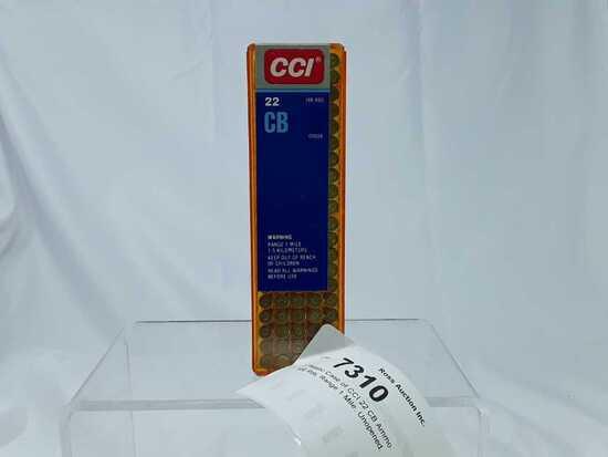 1 Plastic Case of CCI 22 CB Ammo