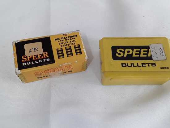 2 Boxes of 38 Cal Bullets