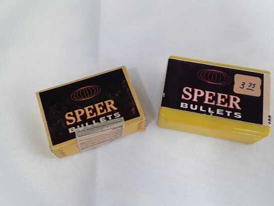 2 Box of Speer 9mm Bullets.