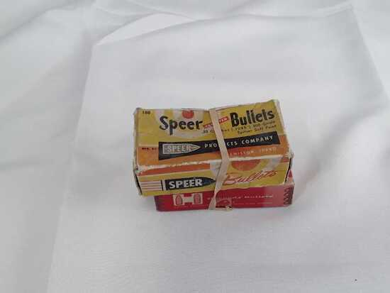 2 Boxes of Vintage 30 Cal Bullets.