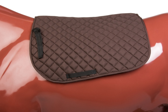 PAD 500BR ENGLISH QUILTED PAD BROWN