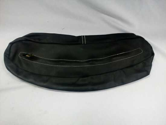 BAG 930BL-SMALL BLACK CONTOUR BAG
