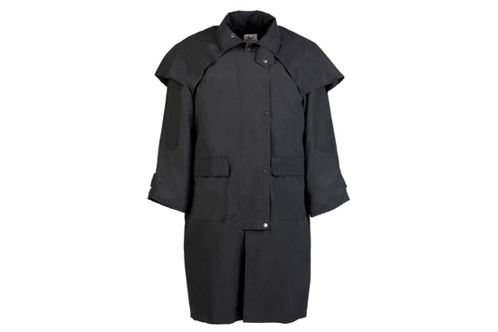 OWN 050-L- THE OUTBACK SLICKER BLACK LARGE