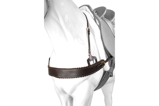 BRE 315BR DU WEST BREASTPLATE BROWN