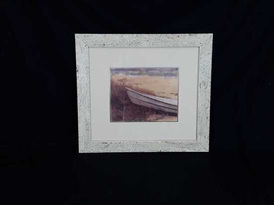 """The Boat"" by Mollie Plummer Framed Artwork"