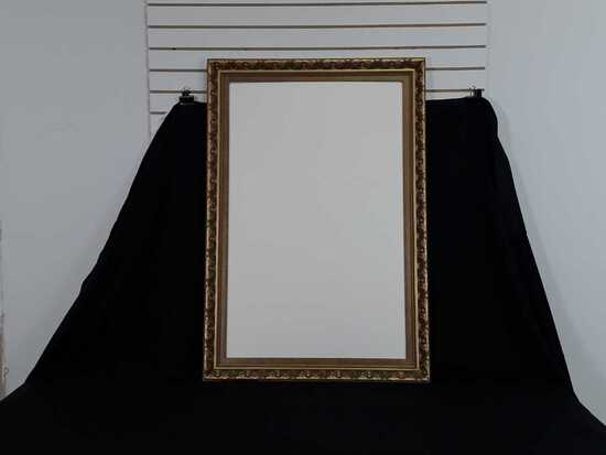 Gold Frame With White Board