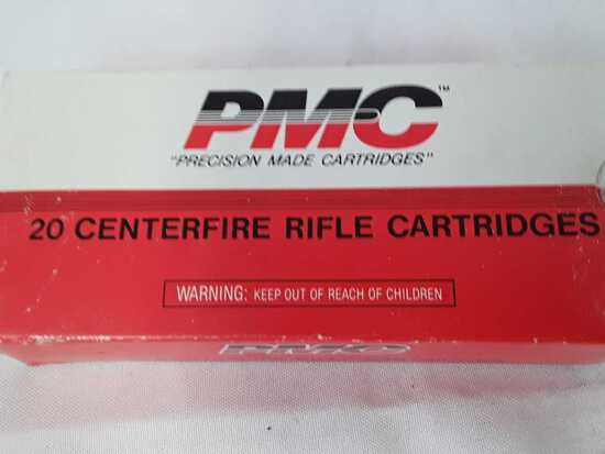 "1 BOX OF ""PRECISION MADE CARTRIDGES"" 7.62X39 AMMO"