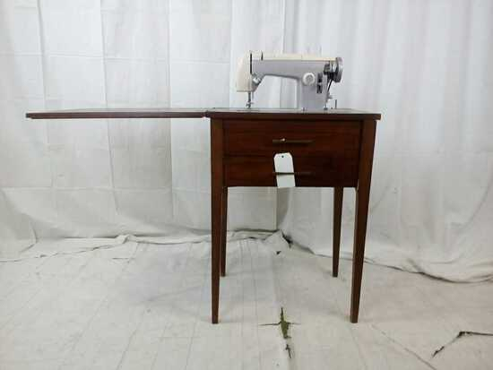 Sears Kenmore Sewing Machine w/ Cabinet Table