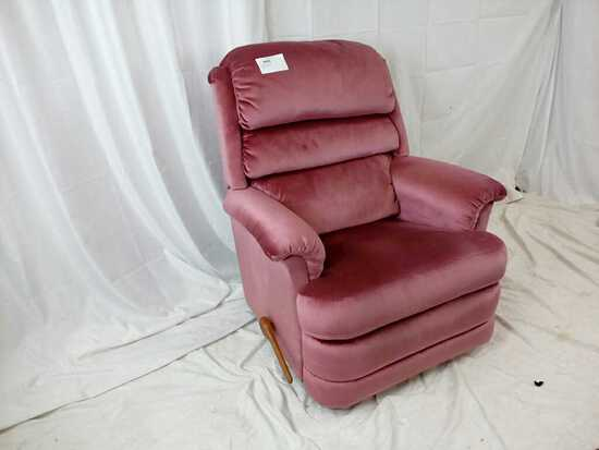 Soft Pink Recliner Chair