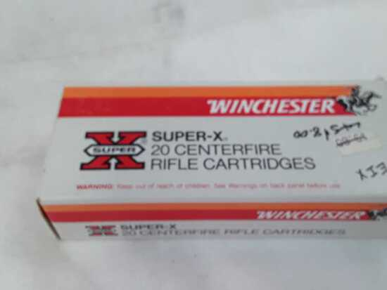 1 BOX OF WINCHESTER 22-250 REMINGTON