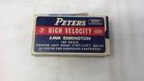 1 VINTAGE BOX PETERS 6MM REMINGTON #6610