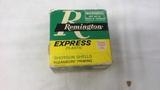 1 BOX OF 20 GA. REMINGTON EXPRESS ROUNDS