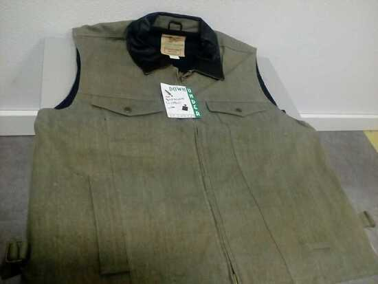 OWC 301GREY6 - CANVAS C.C. VEST GREY L