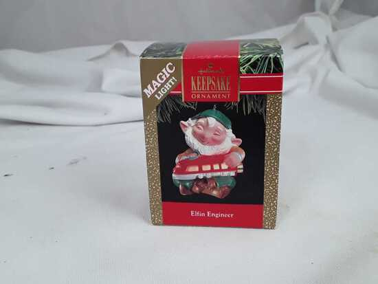 "HALLMARK ""ELFIN ENGINEER"" ORIG BOX"